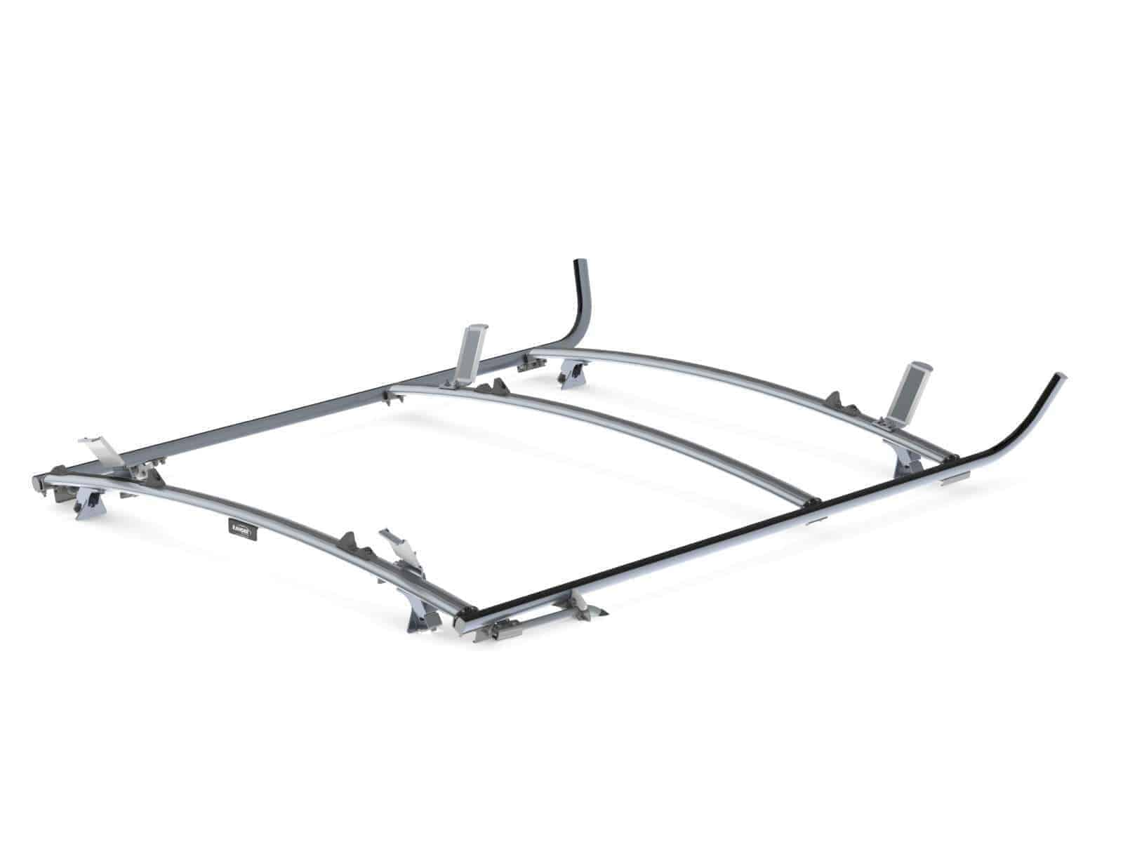 combination ladder rack  aluminum  2 bar  gm  ford full