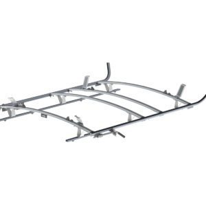 Combination Ladder Rack Aluminum 3 Bar Ford Transit LWB, 1525-FTL3