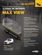 Max View cloison Transit Connect brochure finale FR icone
