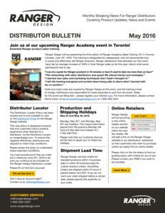 thumbnail of Ranger-May-2016-Bulletin