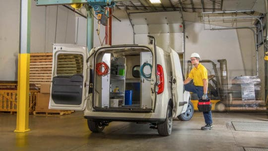 Truck and Van Accessories for the ProMaster City