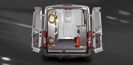 2015 Ford Transit Rear