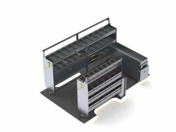 Electrician-Van-Shelving-Package-Nissan-NV-Lo-Roof-K211