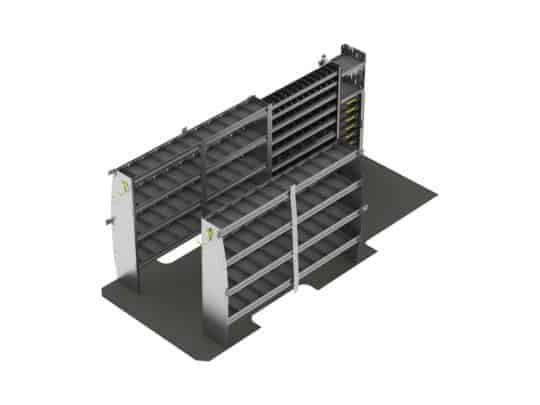 "Plumber Van Shelving Package, Sprinter 170"" Wheel Base-G715"