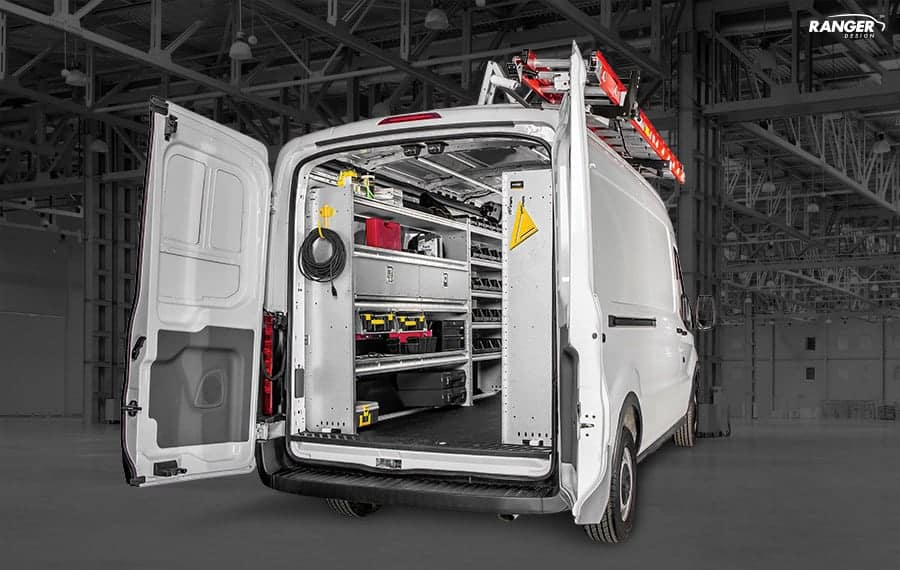 Ford Transit Van Shelving Solution