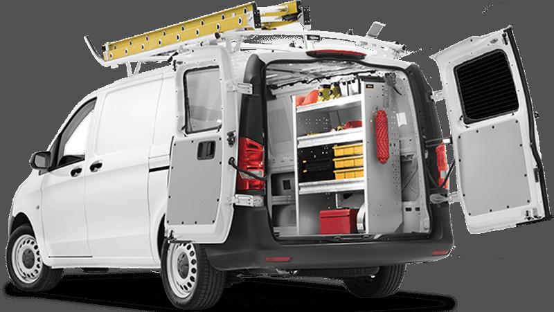 shelving bin shelving packages for commercial vehicles ranger design. Black Bedroom Furniture Sets. Home Design Ideas