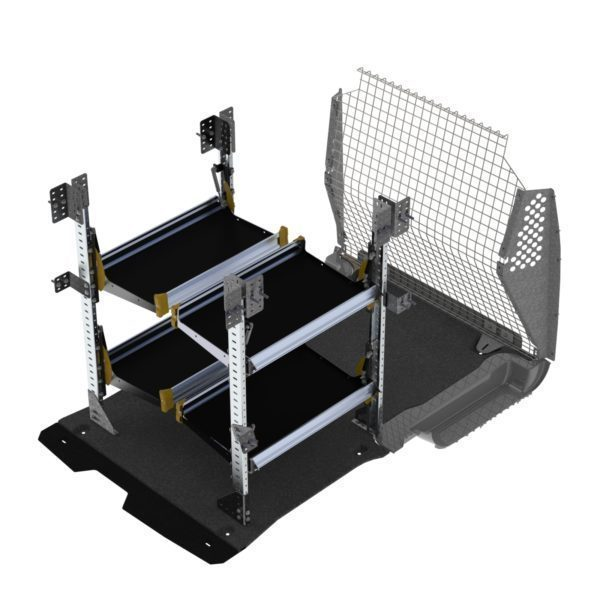 Delivery Van Shelving Package, Ford Transit Connect Long WB - TCL-19