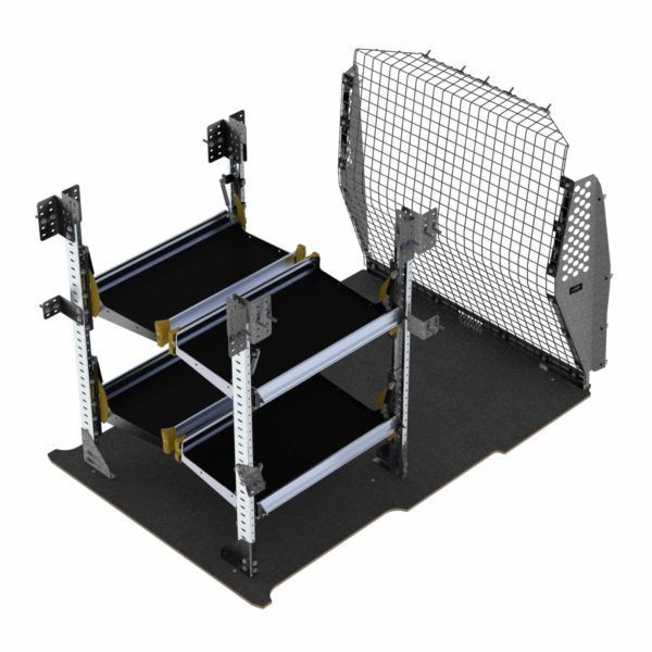 Delivery Van Shelving Package, RAM ProMaster City - PMD-19