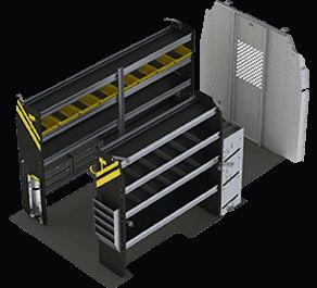 Ford Transit Accessories Shelving Amp Racks Ranger Design