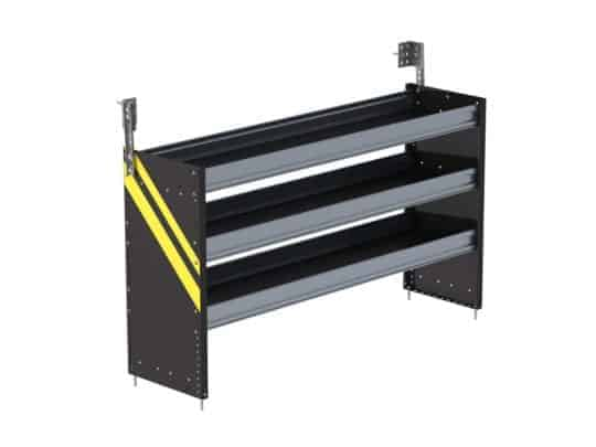 Ranger Design Square Back Shelving Systems, S3-RS60-3