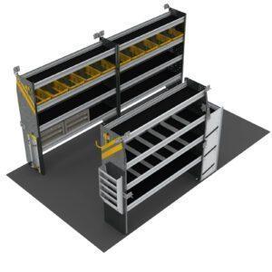 HVAC Van Shelving Package, 14' Box Truck/Enclosed Trailer - BTL-12
