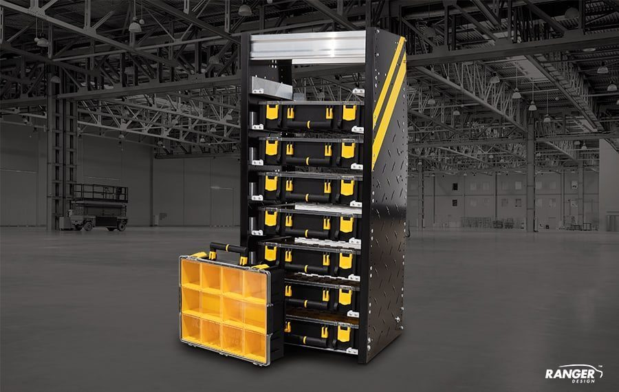 Partskeeper Cabinet with 8 Cases