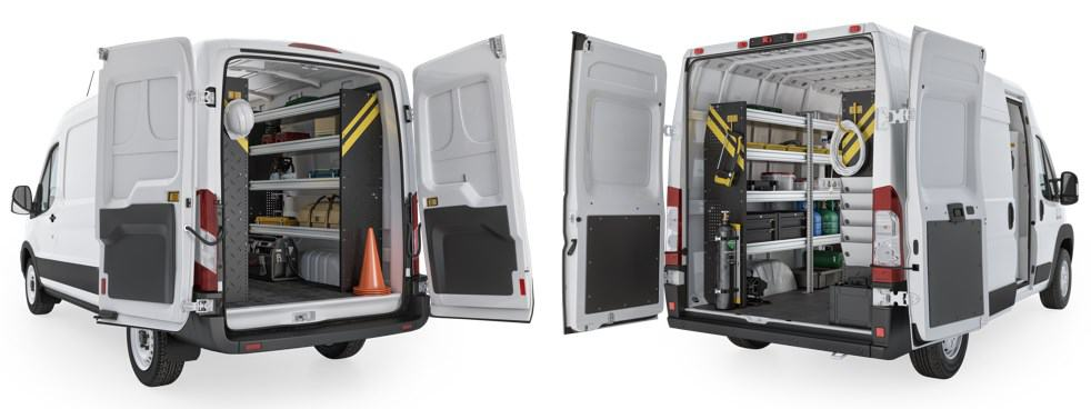 Ranger Design Van Storage Systems
