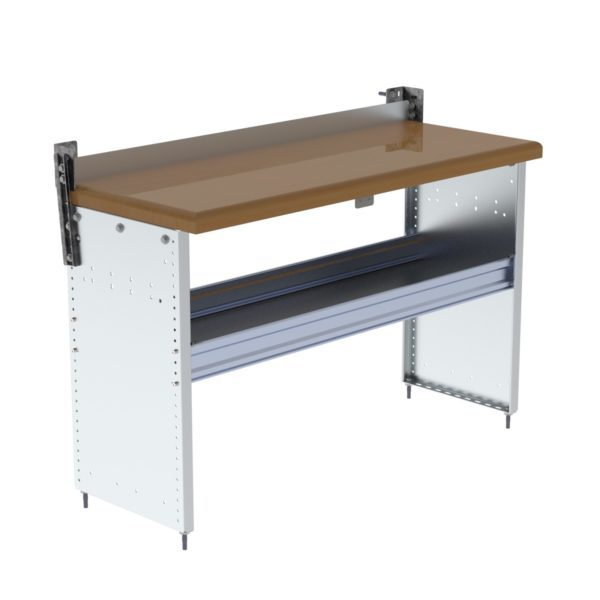 Workbench For Vans w/ Hardwood Top 18x48x32, S2-WA48-1