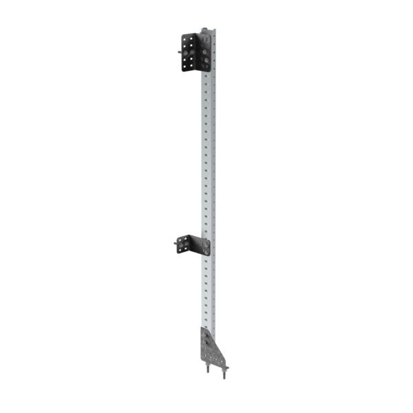 "Aluminum Post For Fold-Away Units, 62.5""H"