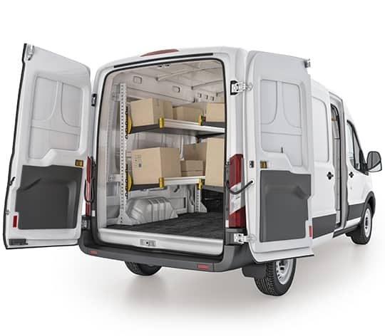 Ford-Transit-Delivery-Van-Package (F419) With Ladder Rack