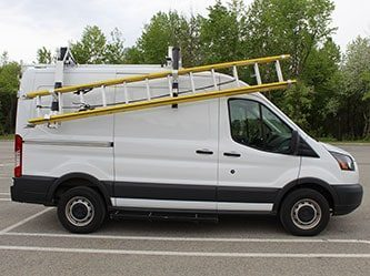 Heavy Duty Construction of Ladder Rack