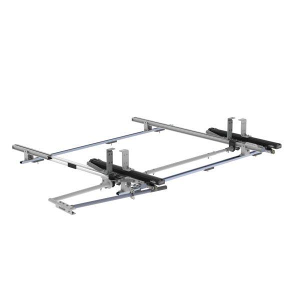 Max Rack 2.0 Drop Down Ladder Rack, Single Side, Ford Transit LR RWB - 1840-FTR