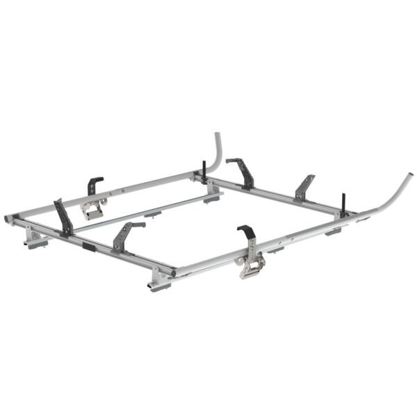 Double Clamp Ladder Rack For Ford Transit Connect 2 Bar System - 1630-TC