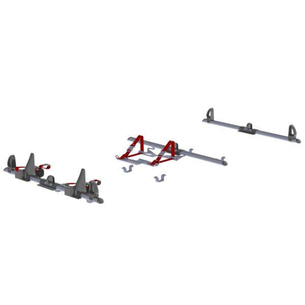 Rear Loader Ladder Rack Double Width Bracket - 19-U0002